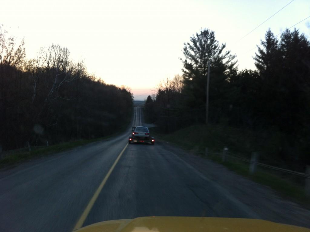 Lada in transit